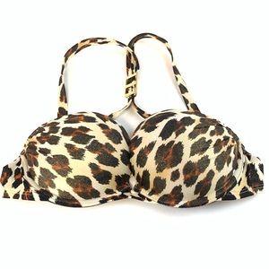 Victorias Secret Bikini Top 32B Bombshell Black